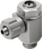 GRLA-1/8-PK-4-B One-way flow control valve -- 151167-Image