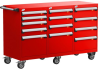 L Cabinet with Partitions, Econo Lock-In (54