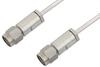 3.5mm Male to 3.5mm Male Cable 48 Inch Length Using PE-SR405AL Coax -- PE34576-48 -Image