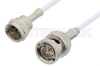 75 Ohm F Male to 75 Ohm BNC Male Cable 36 Inch Length Using 75 Ohm RG187 Coax -- PE36155-36 -Image