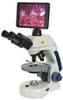 Compound Microscope with Tablet-Style Display and Camera, Plan objectives -- GO-48925-07