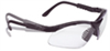 RV0110ID - Radians Revelation<tm> Safety Glasses, Black frame, Clear lens -- GO-86497-10