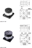 Mini Threaded Vertical Translation stages -- GCM-161 -Image