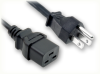 NEMA 5-15P to IEC-60320-C19 HOME • Power Cords • High Voltage Power Cords • Straight Blade Power Cords -- 5097.036 -Image
