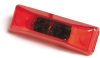 Grote 47092-3 Rectangular LED Clearance Light Red, 3.78