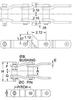 Part # 27698, WHX-124 CHAIN - R1 / RR ATTACHMENT -Image