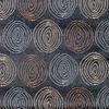 Circle Swirls on Satin Ground Fabric -- R-Gravity -- View Larger Image