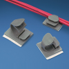 Cable Clip : Mounts Used Without Cable Ties : Latching -- LWC19-A-C