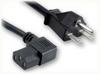 NEMA 6-15P to IEC-60320-C13 RIGHT ANGLE HOME • Power Cords • High Voltage Power Cords • Straight Blade Power Cords -- 1678.096 -Image