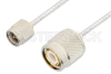 SMA Male to TNC Male Cable 24 Inch Length Using PE-SR405FL Coax -- PE34416-24 -Image