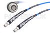 SMA Male to SMA Male Cable 72 Inch Length Using PE-P141 Coax with HeatShrink, LF Solder, RoHS -- PE350-72 -Image
