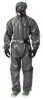 Hooded Coverall,Gray,2XL,PK2 -- 2RKW5
