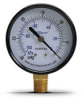 -30 to 0 inch Hg Vacuum Pressure Gauge with 2.5 inch mechanical dial -- G25-BDV-4LB - Image