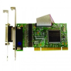 4 Port RS232 PCI Serial Port Card with LPT Parallel Port -- UC-295