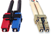 Multimode Duplex Fiber Optic Cable, 62.5/125, 850nm, SC-LC Connectors -- 2ZR6BC-X