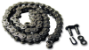 Metal Roller Chain (inch) -- A 6Q 7-25 - Image