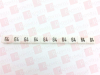 CONTA CLIP 2102.0064 ( SB 6/10 GW 64, TERMINAL MARKER, MARKED 64, STRIP OF 10 MARKERS, PRICE PER STRIP ) -Image