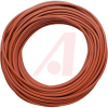 Wire, Test Lead; 18 AWG; 10 kVDC; 20 A;Insulation: Red Silicone; 50 ft.; 0.144 -- 70197118