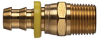 Brass Push-on Fitting - Male Pipe Swivel -Image