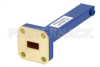0.5 Watts Low Power Commercial Grade WR-28 Waveguide Load 26.5 GHz to 40 GHz, Bronze -- PEWTR1000 - Image