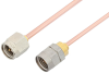 SMA Male to 1.85mm Male Cable 24 Inch Length Using RG405 Coax, RoHS -- PE36539LF-24 -Image