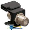 ICC F-Type Nickel Plated Feedthrough Modular Connector -- IC107B5F