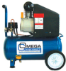 Omega Electric Compressor 1 hp - 8 gal -- OMND1008