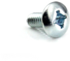 "#8-32 x 3/8"" Phillips/Square Combo Truss Head Machine Screw, Zinc -- MSCSTR00800332Z"