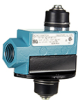 MICRO SWITCH E6/V6 Series Medium-Duty Limit Switches, Top Plunger Actuator, 1NC 1NO SPDT Maintained, 0.5 in - 14NPT conduit -- BZV6-RNX1 -Image
