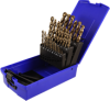 29 Piece Metric Colbalt Steel Drill Bit Set -- 92125M