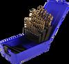 29 Piece Metric Colbalt Steel Drill Bit Set -- 92125M - Image