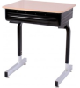 Une-Frame Desk with Lift Lid Book Box 874