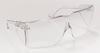 Tour-Guard III Eyewear - 958B, bulk (100/Cs) > SIZE - Regular > FRAME - Clear > LENS - Clear > UOM - Each -- 41120-00000