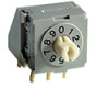 8mm Process Sealed DIP Rotary Switches -- ND-Series