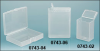 Plastic Vials, Natural Polypro Hinge Top Containers -- 0743-06B