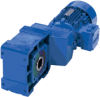 Helical Bevel Gearmotors & Speed Reducers -- WATT Drive