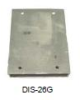 GEFRAN F029207 ( (DIS-26G) PLATE SHAPED HEATSINK 80X110X20 (PREDISPOSED FOR N° 2 DIN-2) ) -- View Larger Image