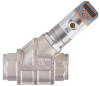 Flow meter with integrated check valve and display -- SB5242 -Image