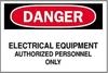 Safety Sign -- 86H6169