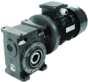 Small Series Worm Geared Motors -- Worm Gear Series AJ