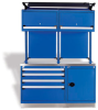 Workbench With Heavy-duty Cabinets -- R5WH5-6006