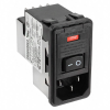 Power Entry Connectors - Inlets, Outlets, Modules -- 1-6609951-6-ND - Image