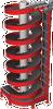 High Capacity Spiral Conveyor -- 1700-600-HC