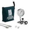 QSCM manifold, 5000 PSIG analog gauge, 20ft, 2ft hoses, (2) 1/4†MNPT process conn., nylon bag -- QSCM-5KPSIG-M