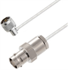 BNC Female to N Male Right Angle Cable Assembly using LC141TB Coax, 1 FT -- LCCA30439-FT1 -Image