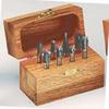93350 Carbide Burr 8-Piece Burr Kit, 1/4