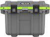Pelican 30 Qt Elite Cooler - Dark Gray with Green Trim | SPECIAL PRICE IN CART -- PEL-30Q-1-DKGRYEGRN -Image