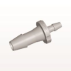 Straight Reducer Connector, Barbed, Natural -- HSR84 -Image