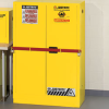 JUSTRITE Sure-Grip EX High-Security Flam Liq Safety Cabinets -- 4627100