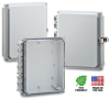 Nema and IP Rated Electrical Enclosure 10X8X2 -- H10082S - Image